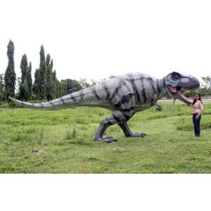 高さ2.3m超!ティラノサウルス T-REX 巨大フィギュア(恐竜等身大フィギュア)※この商品は別途送料かかります、ご注文後お知らせいたします|dream-f