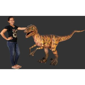 長さ287cm!ディノニクス(恐竜等身大フィギュア)          ※この商品は別途送料かかります、ご注文後お知らせいたします|dream-f
