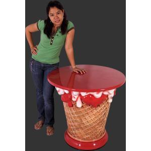 アイスクリームコーン・テーブル|dream-f