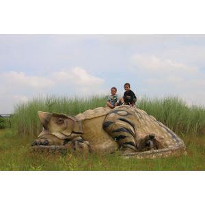 長さ356cm!眠る アンキオサウルス  巨大フィギュア(恐竜等身大フィギュア)※この商品は別途送料かかります、ご注文後お知らせいたします|dream-f