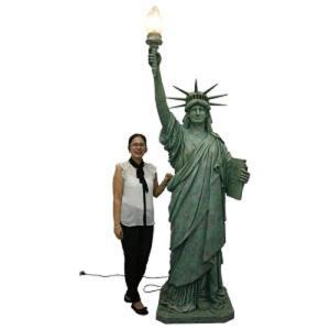自由の女神・フィギュアNEW ビッグサイズ(272cm)        ※この商品は別途送料かかります、ご注文後お知らせいたします|dream-f