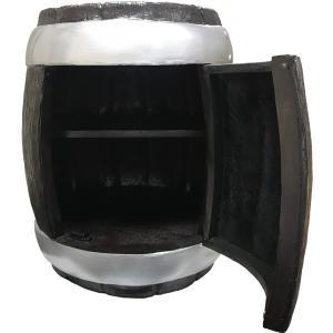小物入れ 「樽型キャビネット」 樽テーブル                 ※この商品は別途送料かかります、ご注文後お知らせいたします dream-f
