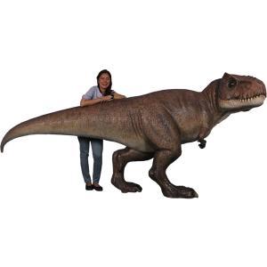 長さ3.3m超!ティラノサウルス T-REX 中型 (恐竜等身大フィギュア)  ※この商品は別途送料かかります、ご注文後お知らせいたします|dream-f