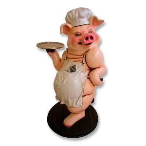 フィギュア付 メニュートレイ・豚                 ※この商品は別途送料かかります、ご注文後お知らせいたします dream-f