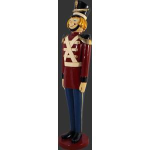 くるみ割り人形 兵隊B ビッグ・フィギュア            ※この商品は別途送料かかります、ご注文後お知らせいたします|dream-f