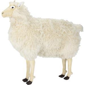 アニマルビッグフィギュアHANSAぬいぐるみ【ヒツジ(羊)高さ:90cm 】(等身大フィギュア) dream-f