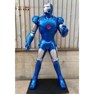 アイアンマン・スタンディング「マーク3 ブル−ステルス」 等身大フィギュア          ※ 大型商品のため送料別途かかります dream-f
