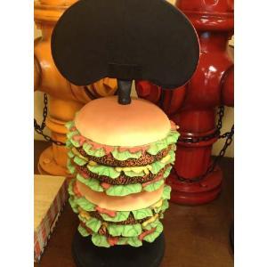 ミドルサイズ・ハンバーガーメニュー(等身大フィギュア/メニューボード) ※この商品は別途送料かかります、ご注文後お知らせいたします dream-f