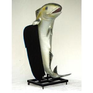 等身大フィギュア付 メニューボード・フィッシュ(魚)        ※この商品は別途送料かかります、ご注文後お知らせいたします dream-f