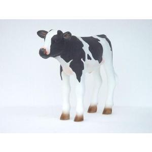アニマルビッグフィギュアシリーズ【ウシ(乳牛)・子牛の乳牛B】(等身大フィギュア)|dream-f