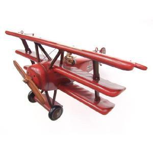 レッド バロン(Red Barron)複葉機(全長1.1m)スモール dream-f