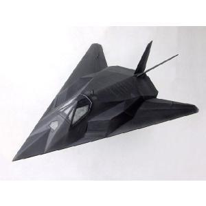アメリカ空軍 ステルス戦闘機 F117Aナイトホーク(全長1.3m) dream-f