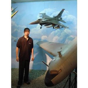 F−16 ジェット戦闘機(全長1.5m) dream-f