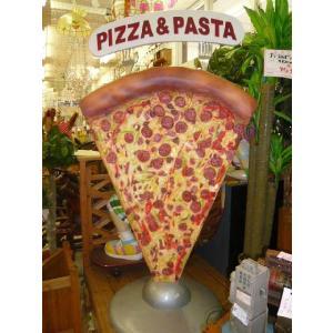 ビッグサイズ・ピザ&パスタ(等身大フィギュア/メニューボード)    ※この商品は別途送料かかります、ご注文後お知らせいたします dream-f