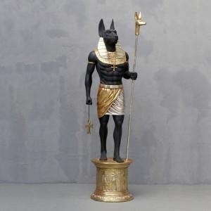 古代エジプト【守護人 アヌビス】 ビッグフィギュア(等身大フィギュア)|dream-f