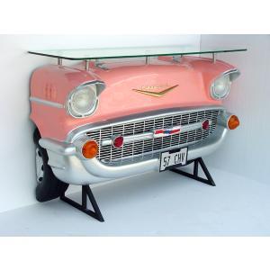 バーテーブル-Chevy-(ピンク)ライト点灯                 ※この商品は別途送料かかります、ご注文後お知らせいたします dream-f