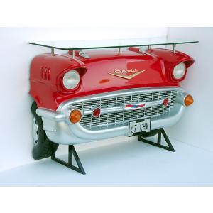 バーテーブル-Chevy-(赤)ライト点灯               ※この商品は別途送料かかります、ご注文後お知らせいたします dream-f