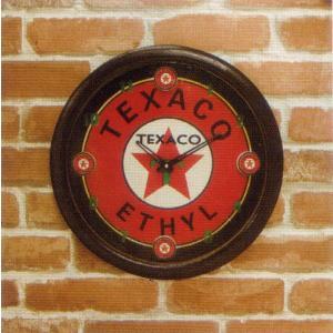 ウォールクロック(壁掛け時計) 「TEXACO」|dream-f