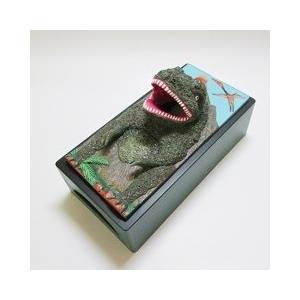 おもしろ雑貨『ティッシュケース』恐竜・ティラノサウルス|dream-f