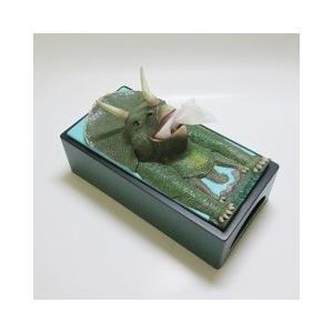 おもしろ雑貨『ティッシュケース』恐竜・トリケラトプス|dream-f