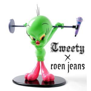 【10%OFF】ROEN ロエン 特別限定トゥイーティーフィギュア(グリーン)|dream-f