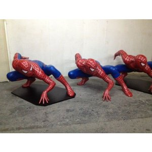 スパイダーマン ビッグ【闘い】 等身大フィギュア           ※ 大型商品のため送料別途かかります。ご注文後に金額お知らせ致します dream-f