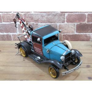 ブリキのおもちゃ レッカー車|dream-f