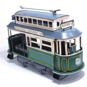 ブリキのおもちゃ トロリー電車B|dream-f