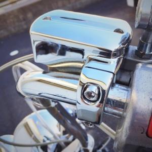 ドラッグスター 400 1100 ブレーキ マスターシリンダー カバー ブレーキカバー クロームメッキ|dream-japan