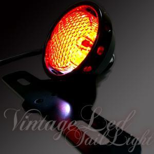 バイク ビンテージ LED 丸目 テールランプ カスタム仕様 SR TW  個性派のあなたに・・・ dream-japan