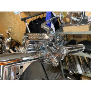 バイク 25mmハンドル用(1インチ) ブレーキ クラッチレバー マスターシリンダー セット メッキ /汎用/ドラッグスター/バルカン/シャドウ|dream-japan
