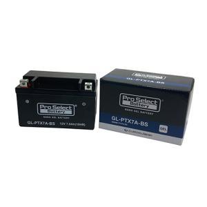 バイク バッテリー CB400SF シグナス スカブ ルネッサ /Pro Select Battery GL-PTX7A-BS (YTX7A-BS 互換)(ジェルタイプ 液入充電済)【取り寄せ】|dream-japan