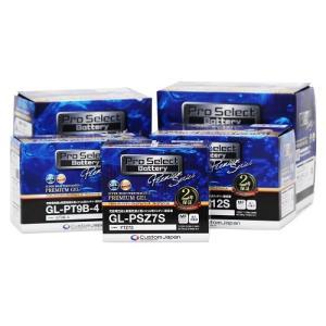 バイク バッテリー GPX GPZ エリミネーター ZZR ZXR /Pro Select Battery GL-PB9L-A2 (YB9L-A2 互換)(ジェルタイプ 液入充電済)【取り寄せ】|dream-japan