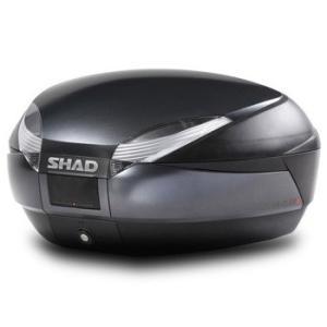 バイク リアボックス ハードケース SHAD SH48 リアボックス ダークグレー  【取り寄せ】 dream-japan