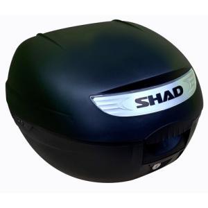 バイク リアボックス ハードケース SHAD SH26 リアボックス 無塗装ブラック  【取り寄せ】 dream-japan
