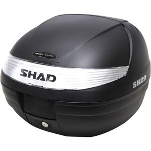 バイク リアボックス ハードケース SHAD SH29 リアボックス 無塗装ブラック  【取り寄せ】 dream-japan