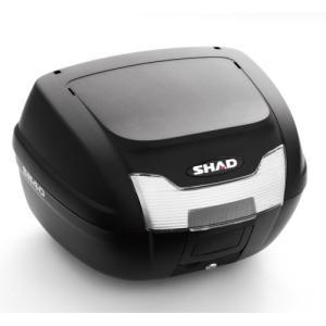 バイク リアボックス ハードケース SHAD SH40 リアボックス 無塗装ブラック  【取り寄せ】 dream-japan