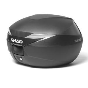 バイク リアボックス ハードケース SHAD SH39 リアボックス 無塗装ブラック  【取り寄せ】 dream-japan