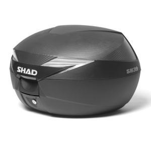 バイク リアボックス ハードケース SH39 リアボックス カーボン  【取り寄せ】 dream-japan