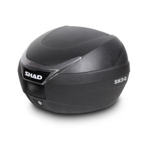 バイク リアボックス ハードケース SHAD SH34 リアボックス 無塗装ブラック  【取り寄せ】 dream-japan
