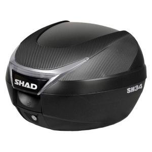 バイク リアボックス ハードケース SHAD SH34 リアボックス カーボン  【取り寄せ】 dream-japan