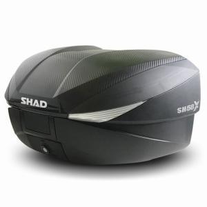 バイク リアボックス ハードケース SHAD SH58X リアボックス カーボン  【取り寄せ】 dream-japan