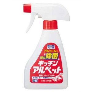 プロの洗剤 キッチンアルペット スプレー付 300ml
