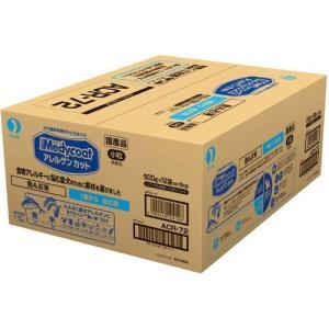 メディコート アレルゲンカット 魚&お米 1歳から 成犬用 6kg(500g×12袋)