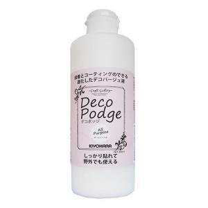 Deco Podge デコポッジ 接着とコーティングのできる進化したデコパージュ液 オールパーパス Lサイズ 300ml DEP-03L ABL|dream-realize