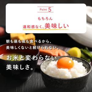 こんにゃく米 乾燥 無農薬 おためしセット 60g x 6袋 ダイエット食品 糖質制限 こんにゃく 米 食品 業務用 ごはん ダイエット 食品 置き換え ポイント消化|dream-realize|13