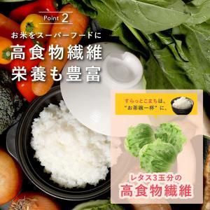 こんにゃく米 乾燥 すらっとこまち おためしセット 60g x 6袋 無農薬 ダイエット食品 糖質制限 こんにゃく 米 食品 業務用 ごはん 置き換え ポイント消化|dream-realize|09
