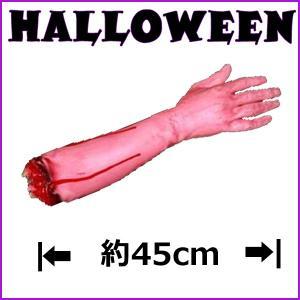 ハロウィングッズ 血だらけの腕 飾り 装飾 グロテスク ホラー 恐怖 怖い リアル ディスプレイ 仮装 コスチューム パーティー イベント インスタ映え|dream-realize