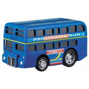 ドライブタウン 2階立てバス ミニカー プルバックカー 自動車 おもちゃ|dream-realize