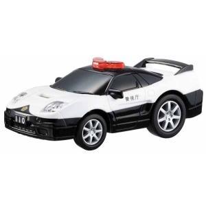 ドライブタウン パトカーNSX-R ミニカー プルバックカー 自動車 おもちゃ|dream-realize